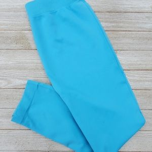 Bright Blue Sofra Leggings